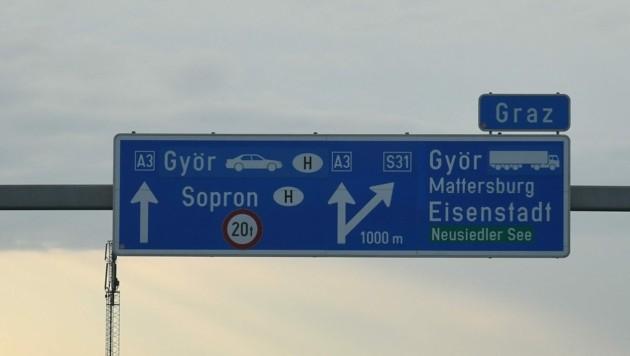 Eine mögliche Verlängerung der A3 bis zur Grenze ist für die FPÖ ein heißes Thema in diesem Herbst. (Bild: Huber Patrick)