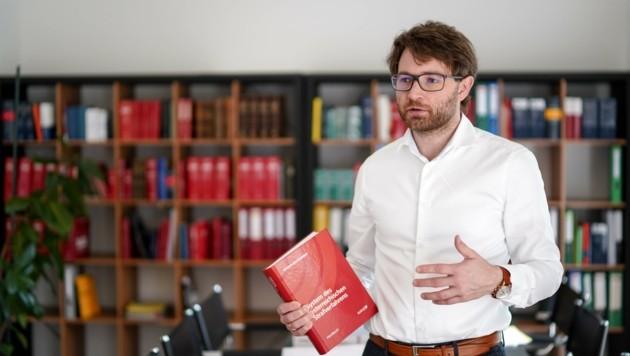 Anwalt Lorenz Kirschner erreichte für B. einen Freispruch. (Bild: Wenzel Markus)