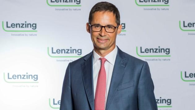 Vorstandschef Stefan Doboczky (Bild: Neumayr/Christian Leopold)