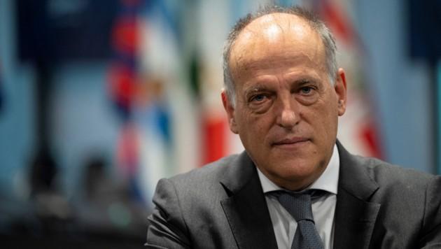 La-Liga-Präsident Javier Tebas (Bild: AFP or licensors)