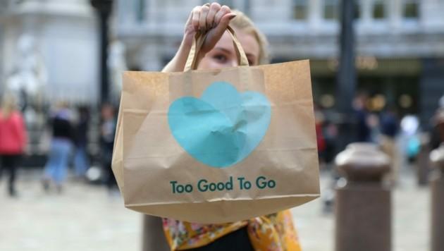 Via App können Lebensmittel ganz leicht gerettet werden. (Bild: Too Good To Go)