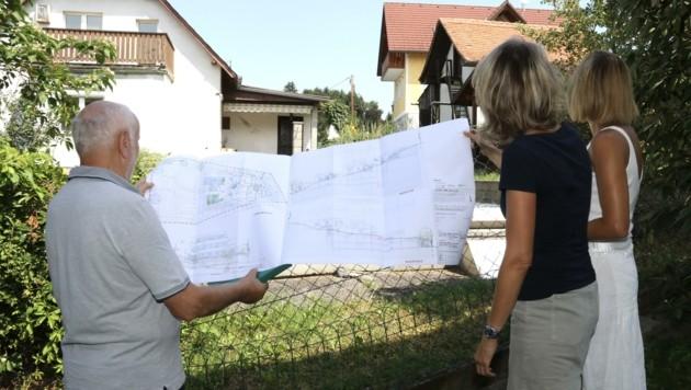 Nachbarn ärgern sich über das Neubau-Projekt in St. Peter (Bild: Jauschowetz Christian)