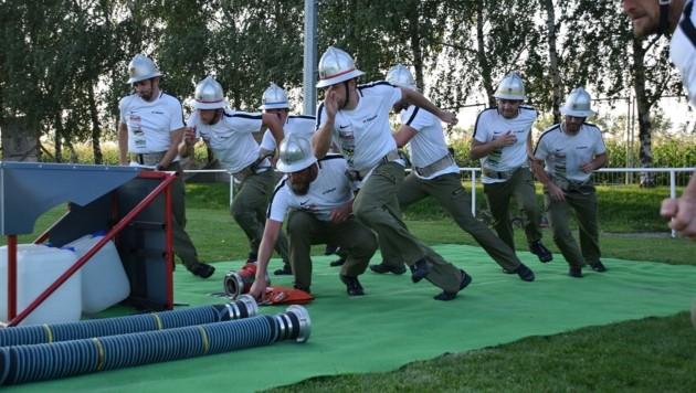 Ohne Fleiß kein Preis! Das Training ist hart, macht aber Spaß. (Bild: Günter Prünner / BZFKDO Eisenstadt)