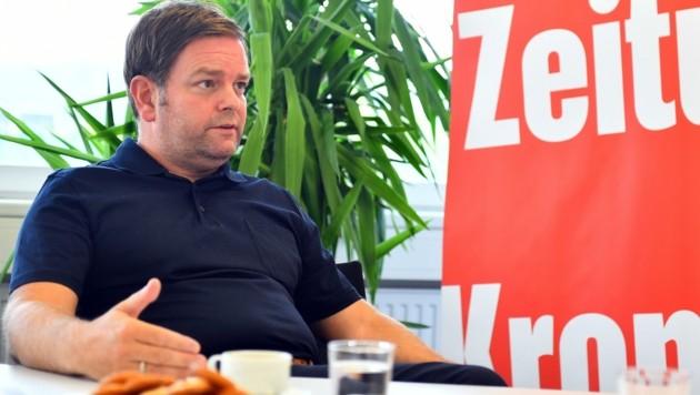 Tirols FP-Landesparteiobmann Markus Abwerzger (Bild: Amir Beganovic)