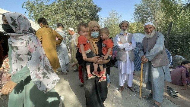 Kabul im August 2021: Flucht aus Todesangst vor den Taliban-Killern (Bild: AA/ABACA)