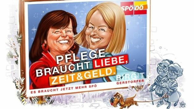 Gerstorfer (SPÖ) und Haberlander (ÖVP) (Bild: Milan A. Ilic)