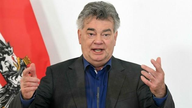 Vizekanzler Werner Kogler (Grüne) (Bild: APA/Helmut Fohringer)