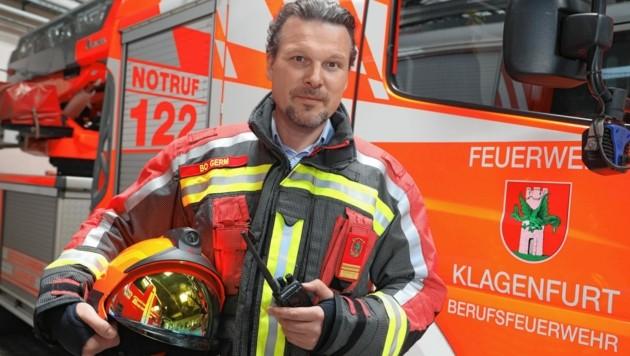 Wolfgang Germ, Sprecher der Berufsfeuerwehr Klagenfurt (Bild: Rojsek-Wiedergut Uta)