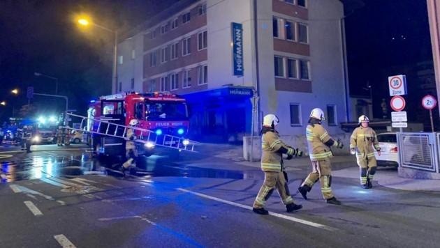 Die Feuerwehr musste ausrücken und mehrere Bewohner evakuieren. (Bild: Markus Tschepp)