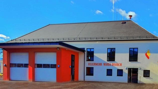 Aus dem ehemaligen Dorfheim in Maria Rojach haben die Lavanttaler Feuerwehrleute ein modernes Rüsthaus gemacht. (Bild: Feuerwehr Maria Rojach)