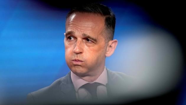 """Es gebe """"nichts zu beschönigen"""" erklärte Heiko Maas. (Bild: AFP/Michael Sohn)"""