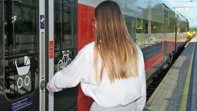 Zug ist abgefahren: Allerdings ohne die 12-Jährige an Bord (Bild: Pressefoto Franz Crepaz)