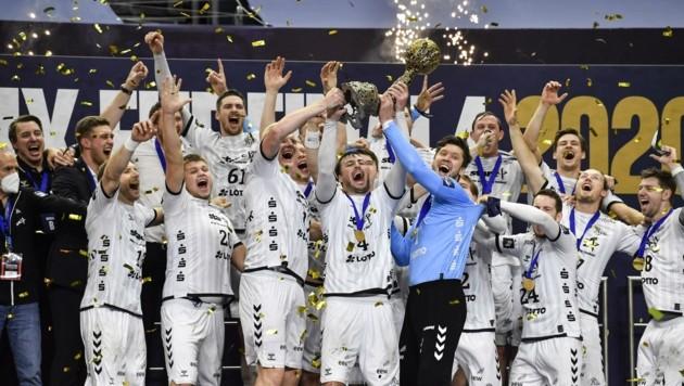 THW Kiel eroberte 2020 die Champions League. (Bild: Martin Meissner)