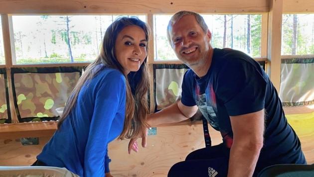 Nelly und Manfred Baumann leben zehn Wochen im Camper. (Bild: Manfred Baumann)
