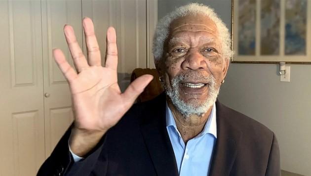 Morgan Freeman im Jahr 2021 (Bild: GETTY IMAGES / GETTY IMAGES NORTH AMERICA / Getty Images via AFP)