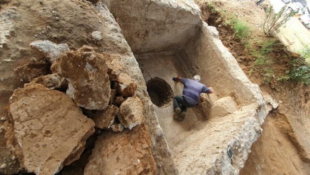 (Bild: Israel Antiquities Authority/Yoli Schwartz)