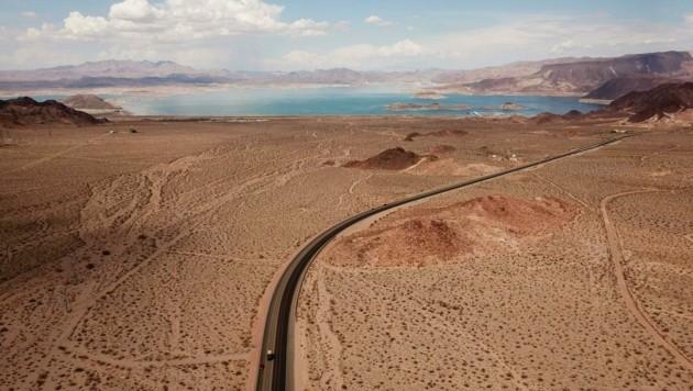 Der Lake Mead ist so stark zusammengeschrumpft wie nie zuvor. Eine direkte Folge des Klimawandels. (Bild: AFP)