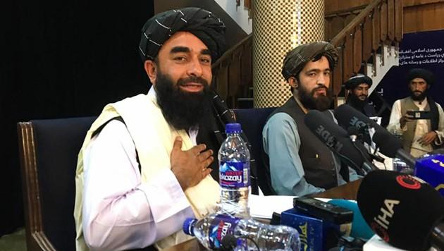 Pressekonferenz Taliban