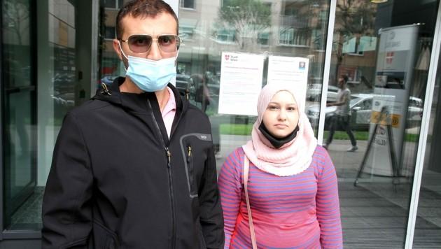 Ahmed und Majed H. warten schon seit neun Monaten. (Bild: Andi Schiel)
