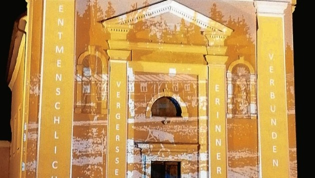Zum Jubiläum soll die Kirchenfassade beleuchtet werden (Bild: Sobe Hermann)