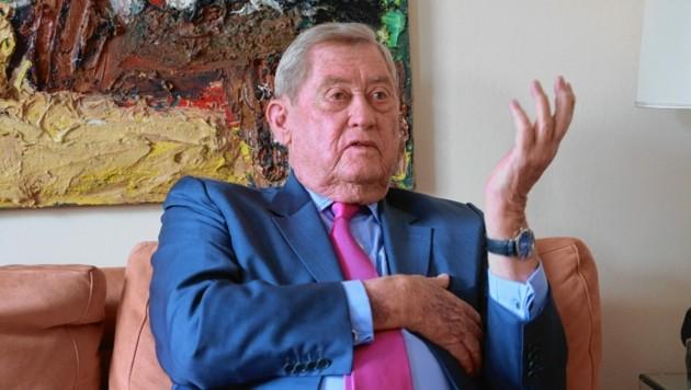 Der ehemalige österreichische Finanzminister ist noch immer meinungsstark. (Bild: Zwefo)