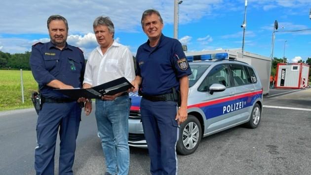 Misik (M.), sein Vize (li.) und Marlovits fordern Verstärkung (Bild: Christian Schulter)