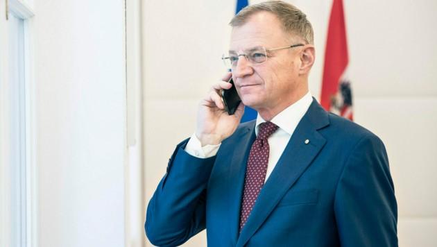 Landeshauptmann Thomas Stelzer (ÖVP) (Bild: Land OÖ/Max Mayrhofer)