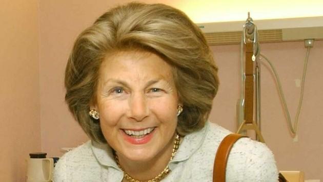 Ein Bild von Fürstin Marie von und zu Liechtenstein aus dem Jahr 2004 (Bild: APA/HBF / Busch)