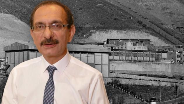 Mahmoud Royaei überlebte das Massaker von 1988; das Evin-Gefängnis nahe Teheran für politische Gefangene (Bild: zVg, Krone KREATIV)