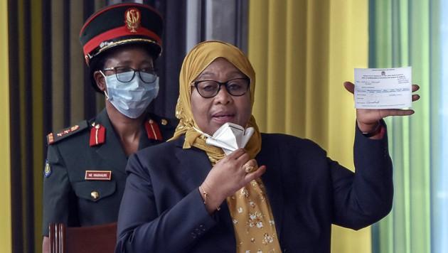 Samia Suluhu Hassan (Bild: AFP)
