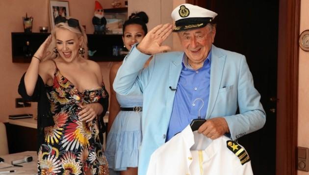 """""""Schiff ahoi!"""": Richie packt die Koffer für sein """"Loveboat"""". (Bild: KRISTIAN BISSUTI)"""