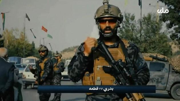 High Tech statt Kalaschnikow - die Taliban-Spezialeinheit Badri 313 (Bild: AFP)