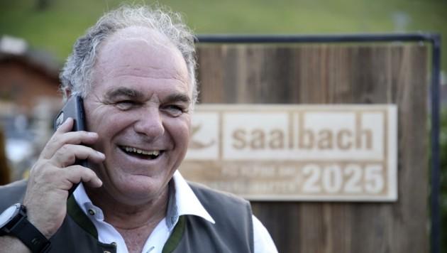 Bartl Gensbichler will bis zur Ski-WM 2025 in Saalbach Salzburgs Ski-Präsident bleiben. (Bild: Tröster Andreas)