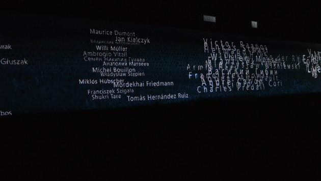 """Das """"Each Name Matters""""-Projekt: In der Gedenkstätte Mauthausen (OÖ) wird kein Name je vergessen. (Bild: Mauthausen_Memorial/Gregor Panis)"""