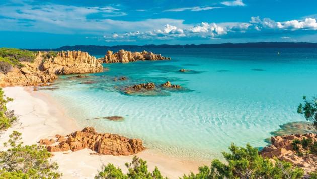 Der Strand La Maddalena auf der Insel Budelli (Bild: Shutterstock)
