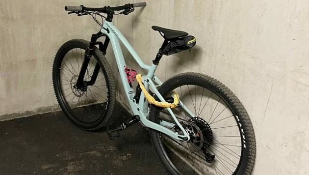 Dieses Mountainbike ließ der unbekannte Täter mitgehen. (Bild: Privat)