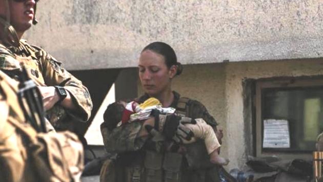 Die 23-jährige Elitesoldatin Nicole Gee war unter den US-Kräften, die bei dem Selbstmordanschlag am Airport von Kabul getötet wurden. (Bild: https://www.instagram.com/nicole_gee__)