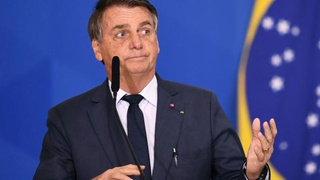 Der brasilianische Präsident sieht ob seiner möglichen Wiederwahl im nächsten Jahr eine existenzielle Bedrohung. (Bild: AFP)