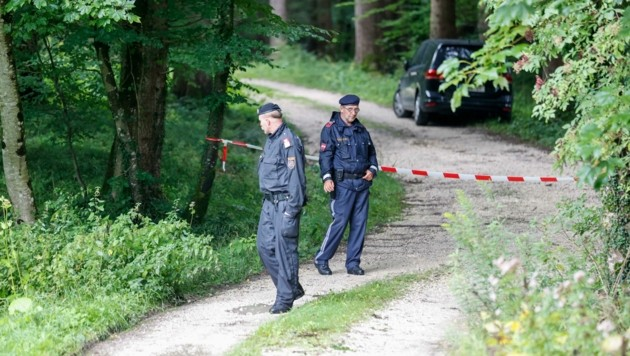 e Leiche wies schwere Verletzungen auf. Die Polizei ermittelt in Richtung Mord. (Bild: Tschepp Markus)