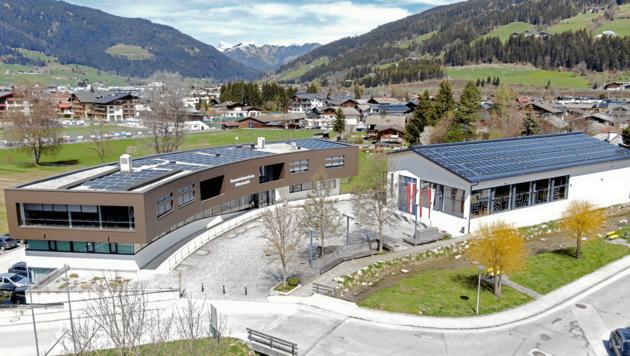 Die Photovoltaikanlage in Altenmarkt ist ebenfalls neu (Bild: DAfi GmbH)