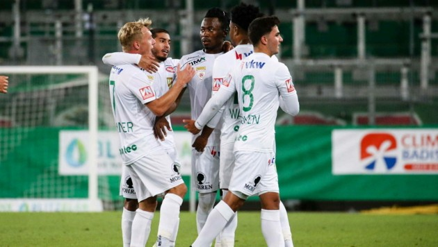 Mit dem Last-Minute-Sieg (1:2) gegen die Amateure von Rapid Wien holte die Austria am Samstag auswärts zum fünften Mal drei Punkte. (Bild: GEPA pictures)