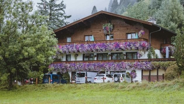 In diesem Haus in Maishofen (Pinzgau) kam es zum folgenschweren Familienstreit. (Bild: APA/EXPA/JFK)
