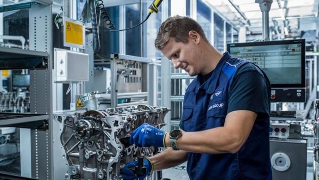 4400 Mitarbeiter sind im BMW-Werk in Steyr beschäftigt. (Bild: BMW Group Werk Steyr)