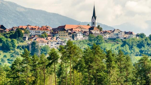 Radovljica in Oberkrain (Bild: ©Marco Saracco - stock.adobe.com)