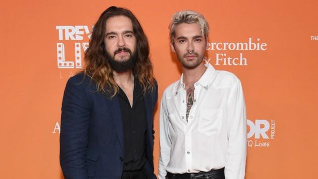 Tom und Bill Kaulitz (Bild: AFP)