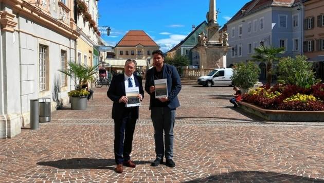 Kulmer und Stadtmarketing-Experte Stefan Regenfelder (Bild: Schwab Alexander)