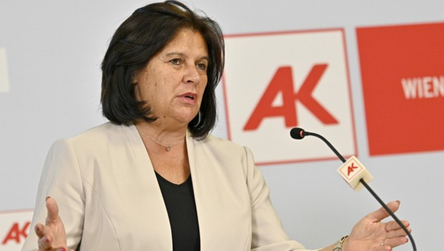 AK-Präsidentin Renate Anderl (Bild: APA/HANS PUNZ)