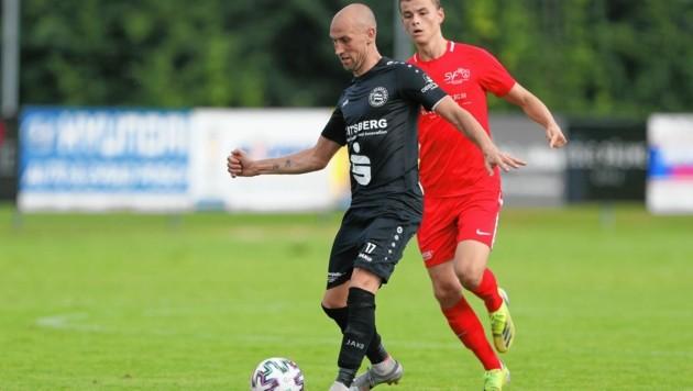 Jürgen Hiden (v.) ist mittlerweile Trainer in Voitsberg. (Bild: Richard Purgstaller)