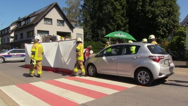 Der 72-Jährige wurde auf dem Schutzweg angefahren. (Bild: Maurice Shourot)