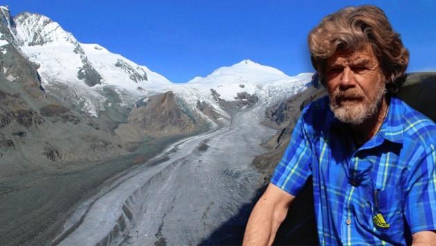 (Bild: OeAV Gletschermessdienst (Archiv), Simon Messner, Krone KREATIV)